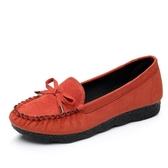 春季布鞋女鞋平跟平底單鞋休閒工作鞋孕婦媽媽鞋豆豆鞋子女
