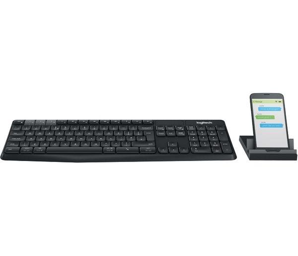 [富廉網] 羅技 Logitech K375s Multi-Device 無線鍵盤支架組合