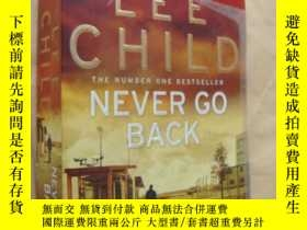 二手書博民逛書店Never罕見go back (by Lee Child)Y14