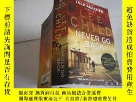 二手書博民逛書店LEE罕見CHILD NEVER GO BACKY205889