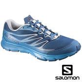 【SALOMON 法國】SENSE LINK 男 輕量路跑鞋『深藍/甲基藍』功能鞋.健行鞋.登山鞋.慢跑鞋.野跑鞋376026