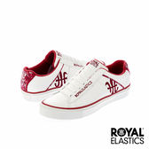 Royal Elastics Cruiser 潮流休閒鞋-白x艷紅印花