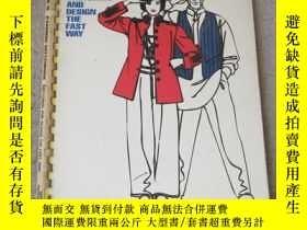 二手書博民逛書店The罕見Snap Fashion Sketchbook: Sk