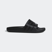J- adidas ADILETTE AQUA 男女 運動 涼鞋 拖鞋 休閒 舒適 輕量 愛迪達 黑 舒適 防水 F35550
