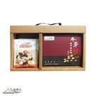 【簡約心意禮盒】益家人養生綜合堅果隨身包x4包+牛蒡晶萃養生飲(12包/盒)