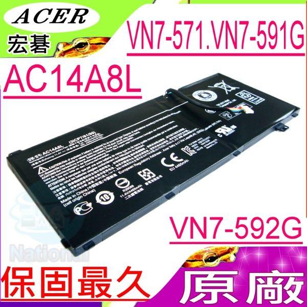 ACER AC14A8L電池(原廠)-VN7-591G-78SX ,VN7-591G/i7-4710HQ, VN7-591G ,VN7-592G-56WR ,VN7-592G-58NG
