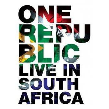 共和世代 原始天性 世界巡迴 約翰尼斯堡演唱會實錄 DVD OneRepublic Live In South Africa 免運 (購潮8)
