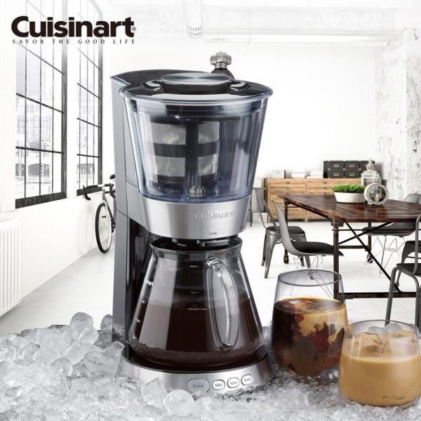 【南紡購物中心】【美國Cuisinart】自動冷萃醇濃咖啡機 DCB-10TW