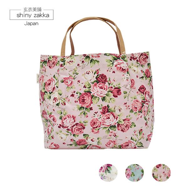 化妝包-Rose玫瑰防水手提包-粉色-玄衣美舖
