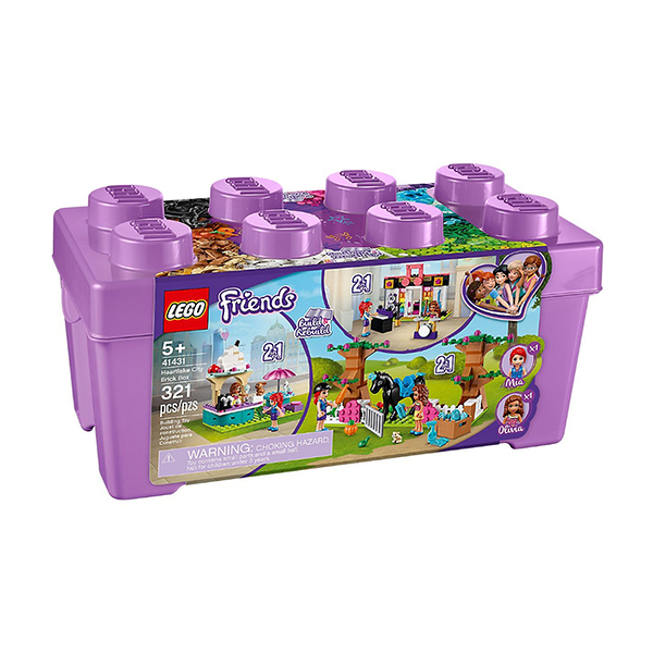 41431【LEGO 樂高積木】姊妹淘系列 Friends -Heartlake City Brick Box (321pcs)