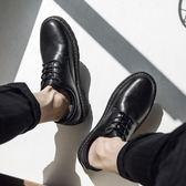 休閒小皮鞋男韓版潮流社會青年鞋子男學生原宿風英倫百搭潮鞋 黛尼時尚精品