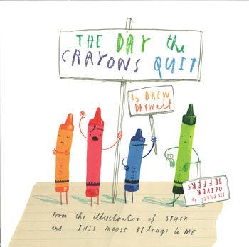 【麥克書店】THE DAY THE CRAYONS QUIT (蠟筆大罷工) /英文繪本 《主題:幽默‧趣味》