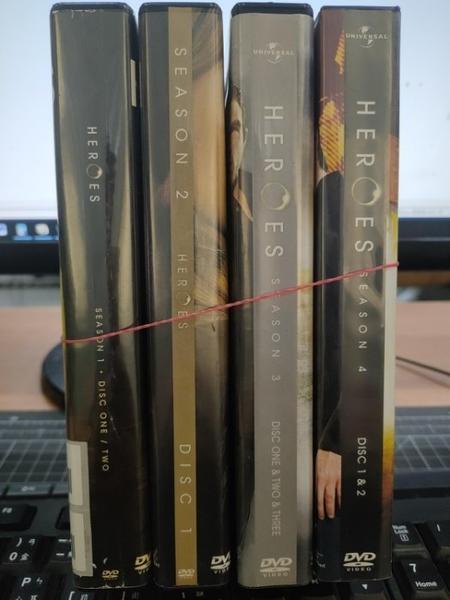 挖寶二手片-0067-正版DVD-影集【超異能英雄 第1+2+3+4季 系列合售】-(直購價)