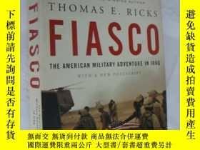 二手書博民逛書店Fiasco:The罕見American Military Ad