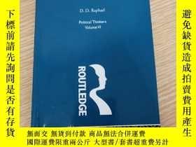 二手書博民逛書店Hobbes:罕見Morals and PoliticsY433260 D. D. Raphael Routl