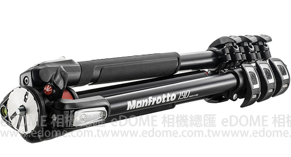 MANFROTTO 曼富圖 MT 190XPRO4 贈腳架套 (24期0利率 正成貿易公司貨) 鋁合金三腳架 新款190系列 載重7公斤