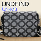 六色袋蓋-圓圈灰 中型 (M) UNDFIND