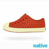 native JEFFERSON GLOW CHILD 奶油頭鞋-熱情夜光橘(小童)