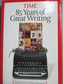 【書寶二手書T7/原文書_WGY】TIME-85Years of Greatest Writing_Time Magaz