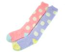 點點糖果保暖襪子 長襪|保暖襪 棉質襪子 素面 百搭 襪子 流行 復古 文青襪【mocodo 魔法豆】