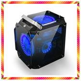 八代 i5-8500 獨顯 GTX1050TI GAMING 電競鍍銀鏡面鋼化玻璃 主機 搶眼上市