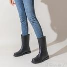 新款雨鞋女時尚款外穿水鞋夏季軟底防水可愛雨靴中筒防滑好看膠鞋 蘿莉新品