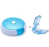 藥盒 切藥片切藥盒分割切割器藥物神器割剪分收納膠囊便攜分裝7天 莎瓦迪卡