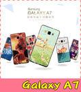 【萌萌噠】三星 Galaxy A7  A700 卡通浮雕保護套 彩繪塗鴉 3D風景 立體超薄 矽膠套 手機殼 手機套
