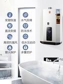 電熱水器 家用天然氣液化氣煤氣強排式12升恒溫 阿宅