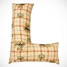 來而康 多功能 L型抱枕 翻身 擺位 輔助枕 布套可拆洗 花樣隨機出貨