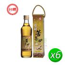 【台糖優食】苦茶油(500ml/瓶) x6瓶/箱~純天然苦茶油 鮮榨100%