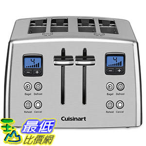 [美國直購] Cuisinart CPT-435C Toaster - 4-slice - Brushed - Countdown 烤麵包機