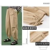 束腳燈籠工裝褲女寬松bf嘻哈褲子直筒【時尚大衣櫥】