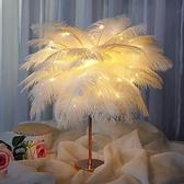 羽毛燈聖誕節禮物平安夜網紅創意小禮品生日送女朋友閨蜜老師兒童 夢幻衣都