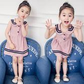 女嬰兒童裝女寶寶1夏裝0夏季2小女孩3歲女童公主夏天背心洋裝潮【全館免運八五折】