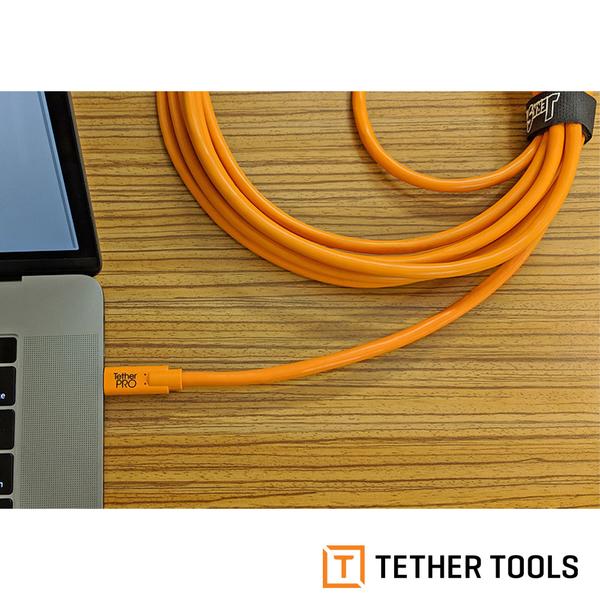 TETHER TOOLS CUC3315-ORG TETHER Pro 傳輸線 USB-C to 3.0 Micro-B 4.6M 延長線 公司貨