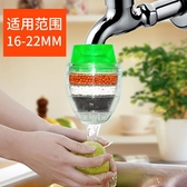 濾水器 廚房水龍頭篩檢程式家用自來水淨水器淨水機活性炭防濺濾水器兩個裝玫瑰