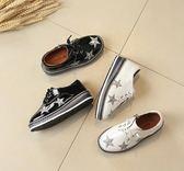 兒童英倫風鬆糕鞋休閒單鞋