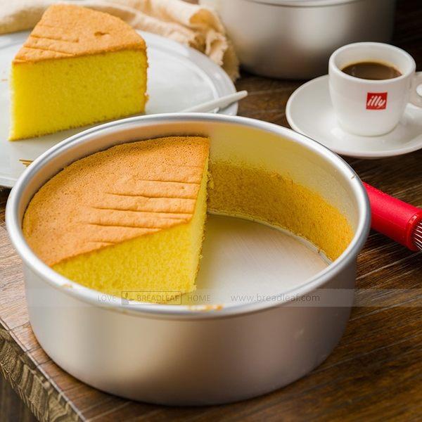 BreadLeaf 8吋烤模 烤箱用模具 烘焙模具 陽極活底蛋糕模具戚風乳酪蛋糕模 鋁合金陽極處理蛋糕模B011