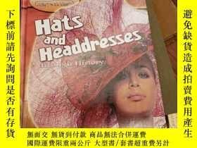 二手書博民逛書店Hats罕見and Headdresses Through Hi