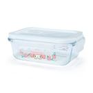 【震撼精品百貨】My Melody 美樂蒂~三麗鷗SANRIO~耐熱玻璃密封盒--草莓*37135