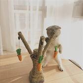 貓爬架劍麻繩貓抓板貓爬架貓玩具劍麻磨爪貓抓柱跳臺寵物用品