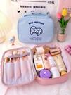 熱賣化妝包 默默愛風少女心化妝包便攜大容量日系可愛手提韓國超火收納包【618 狂歡】