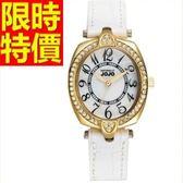 鑽錶-魅力浪漫經典鑲鑽女手錶2色62g17[時尚巴黎]