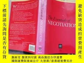 二手書博民逛書店the罕見Essentials Of Negotiation【實
