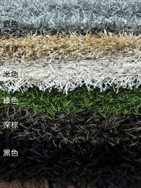 【范登伯格】鑽石☆亮澤長毛混紗地毯-黑-160x230cm