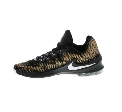 NIKE AIR MAX INFURIATE LOW 男款籃球鞋-黑/金 NO.852457003