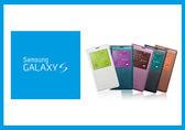 【拆封新品】三星 SAMSUNG GALAXY S5 S-View 原廠皮套 保護套(吊卡盒裝) 贈保護貼