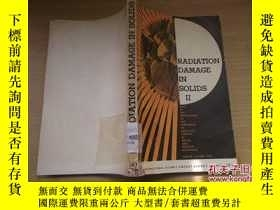 二手書博民逛書店RADIATION罕見DAMAGE IN SOLIDS 2(英文