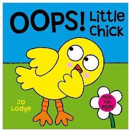 『小動物的伸展操 』OOPS: LITTLE CHICK /幼兒操作書 (知名作家:Jo Lodge的操作書)
